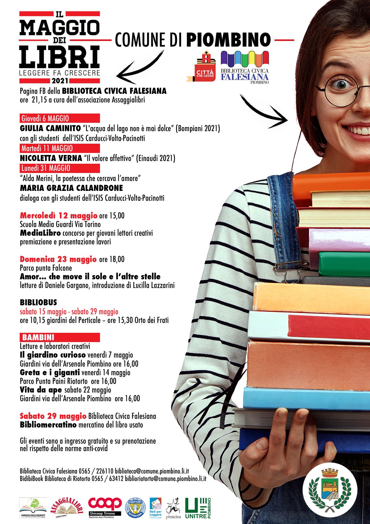 """Torna """"Il Maggio dei Libri"""" con nuovi appuntamenti"""
