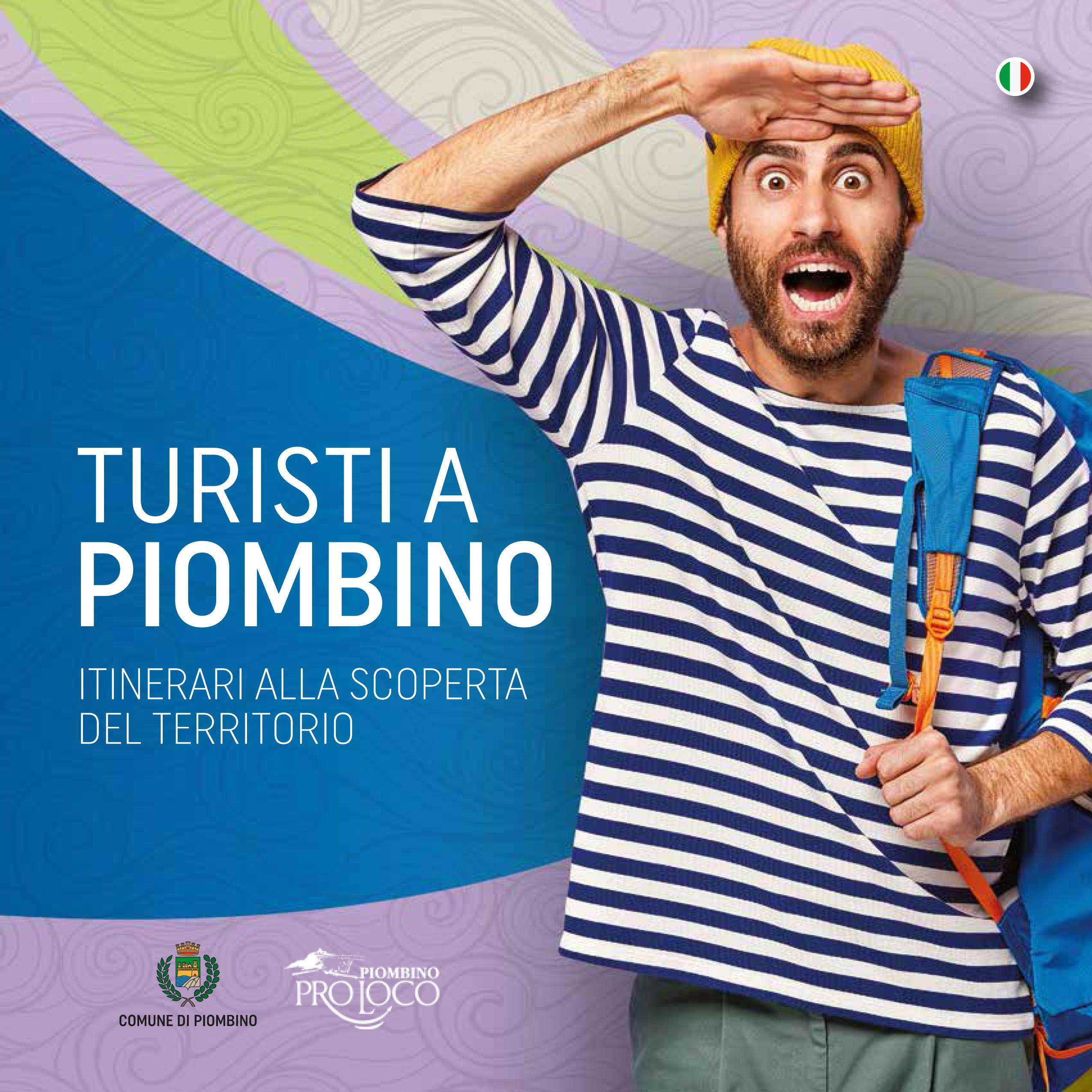 """Nuovi strumenti per il turismo: per la stagione 2021 una nuova guida """"Turisti a Piombino"""" e il restyling della cartellonistica"""
