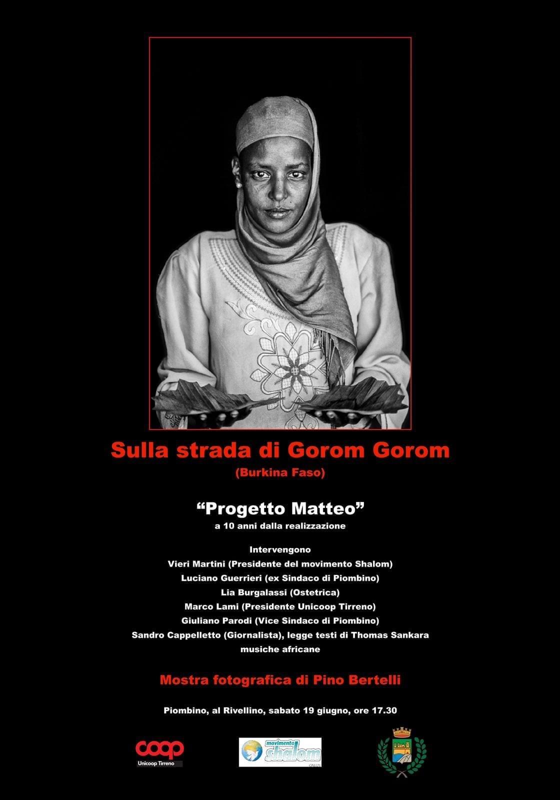 """SULLA STRADA DI GOROM GOROM, COL """"PROGETTO MATTEO"""" AL RIVELLINO LE FOTO DEL BURKINA FASO DI PINO BERTELLI"""