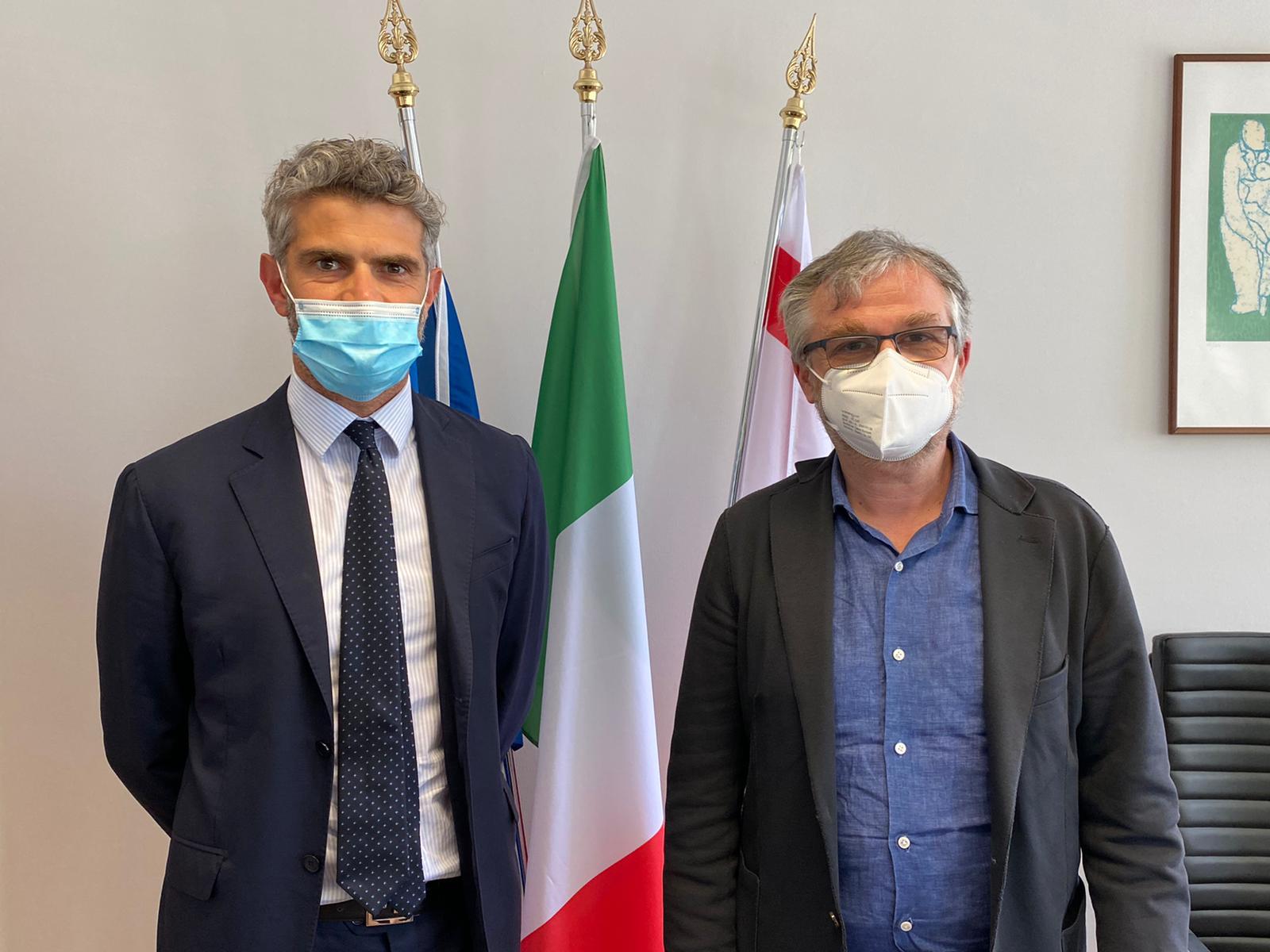 """Ferrari e Palombi: """"Abbiamo finalmente incontrato l'assessore regionale Bezzini, speriamo sia il primo passo verso una sanità adeguata al territorio"""""""