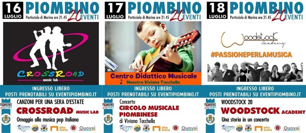 20Eventi, il Festival prosegue con tre serate dedicate alle scuole di musica cittadine