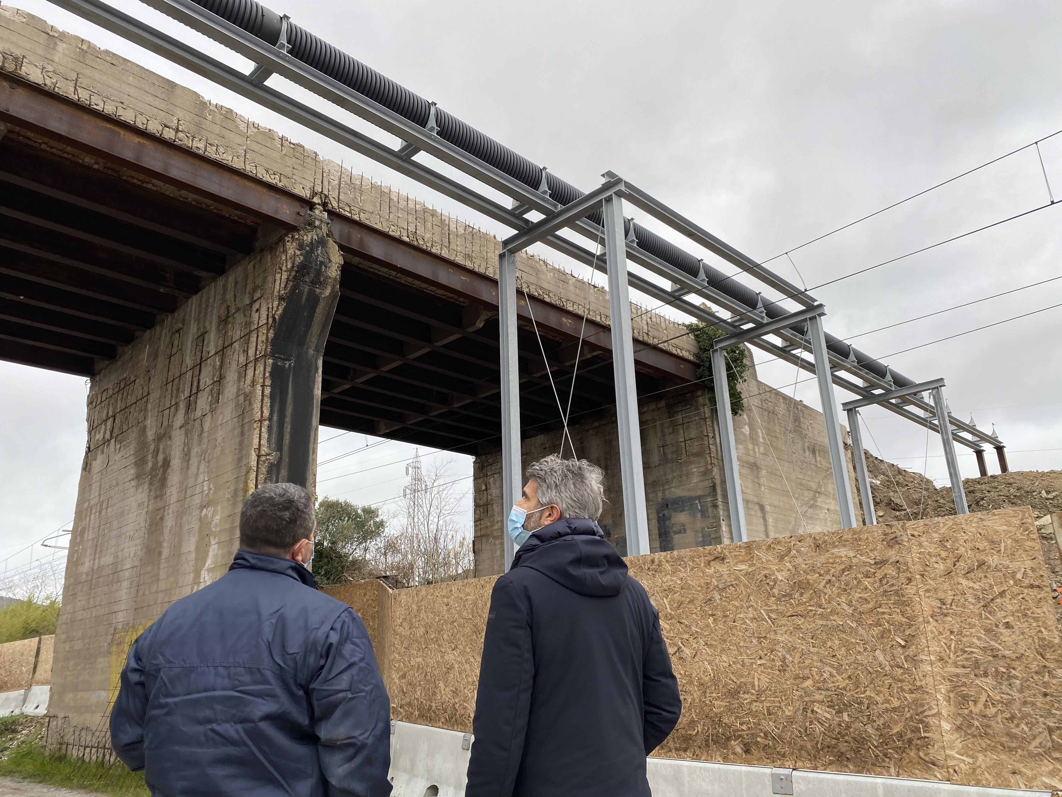 Ripartono i lavori per il ponte delle Terre rosse, entro fine febbraio la demolizione