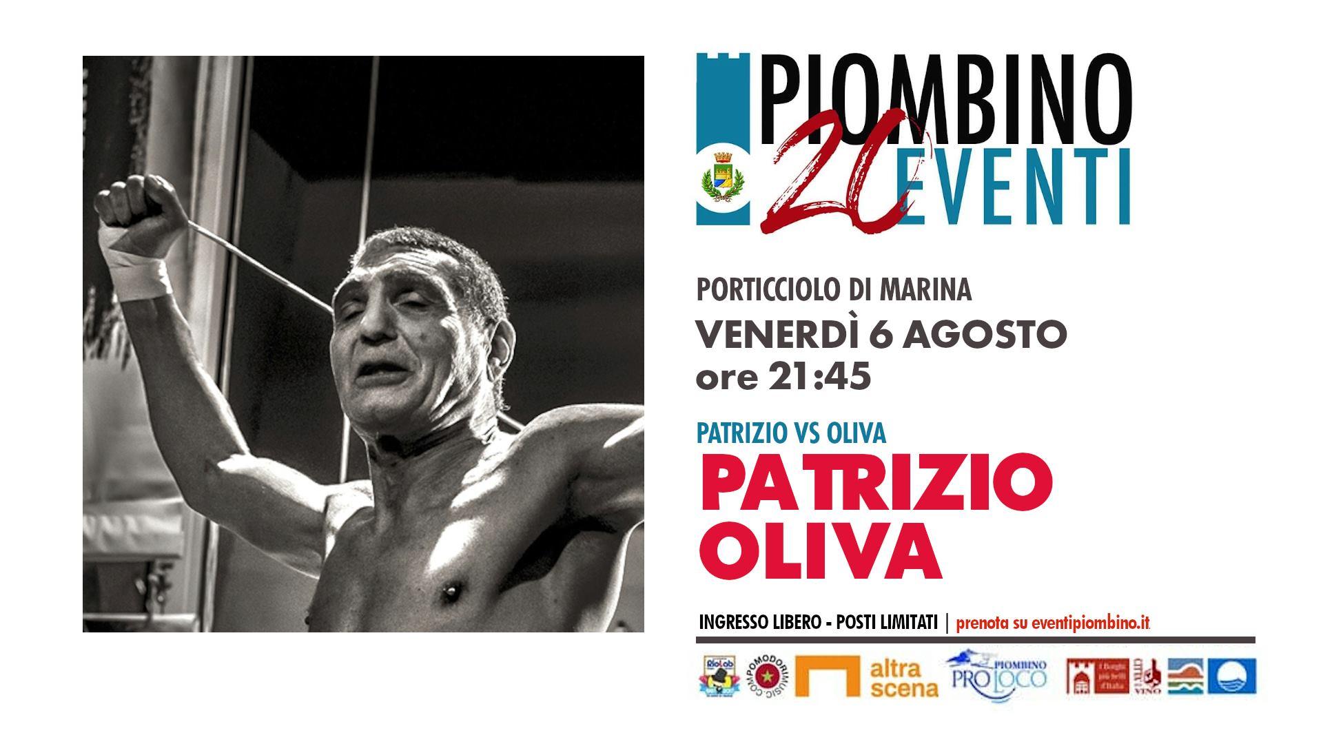 20Eventi, Patrizio Oliva porta sul palco la sua vita tra medaglie d'oro e peripezie