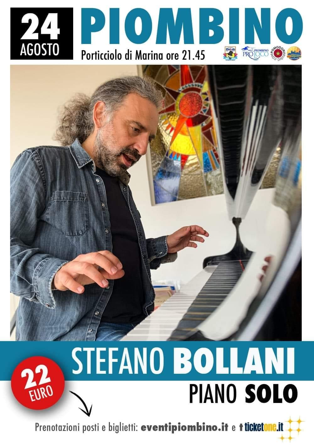 20Eventi, Stefano Bollani ospite attesissimo sul palco di Piombino