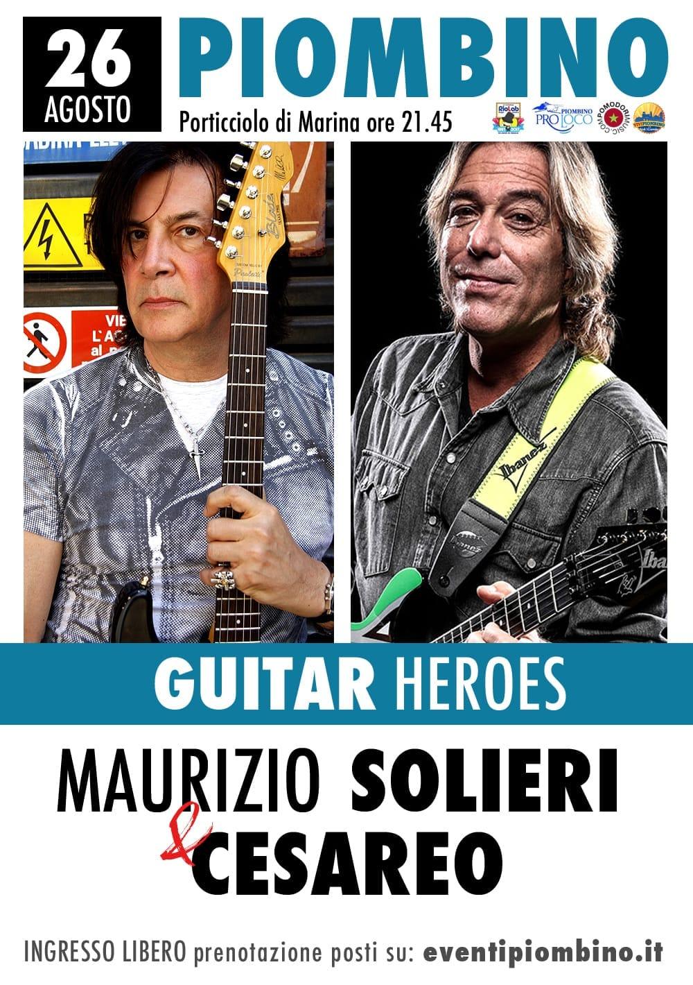 20Eventi, il rock sale sul palco del festival con Solieri e Cesareo