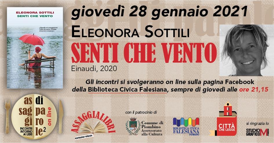 Assaggi di parole, nuovo appuntamento con Eleonora Sottili