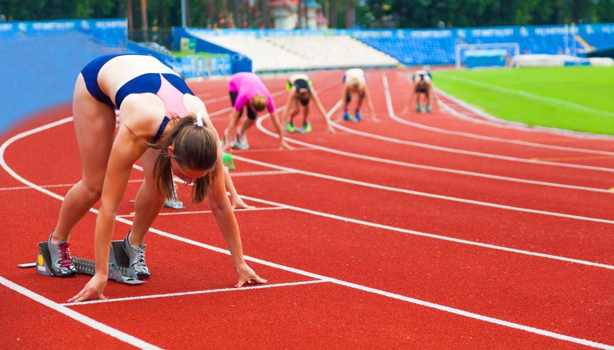 Una nuova pista per il campo di atletica
