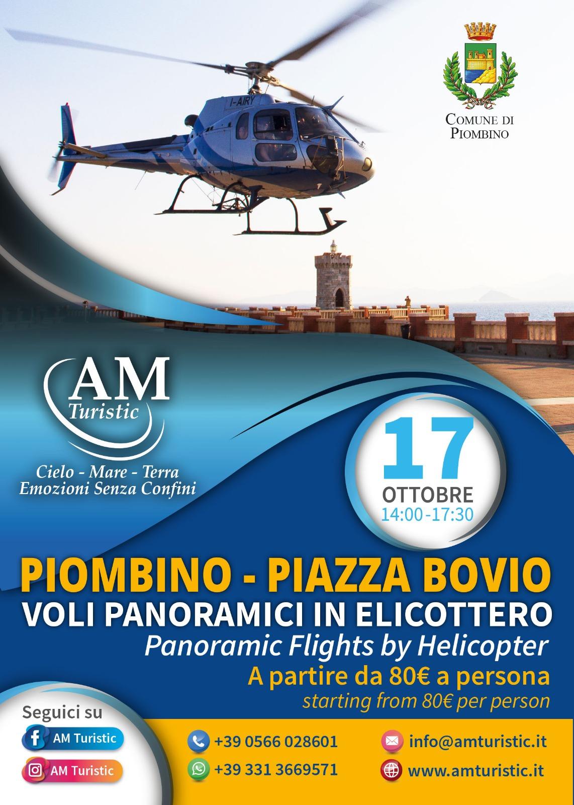 Torna l'elicottero in piazza Bovio