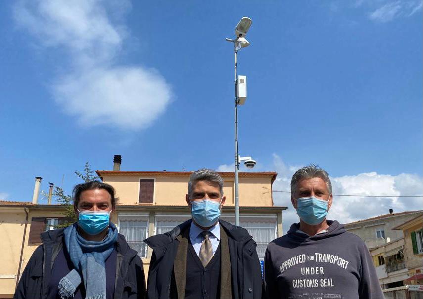 Videosorveglianza a Riotorto: terminati i lavori