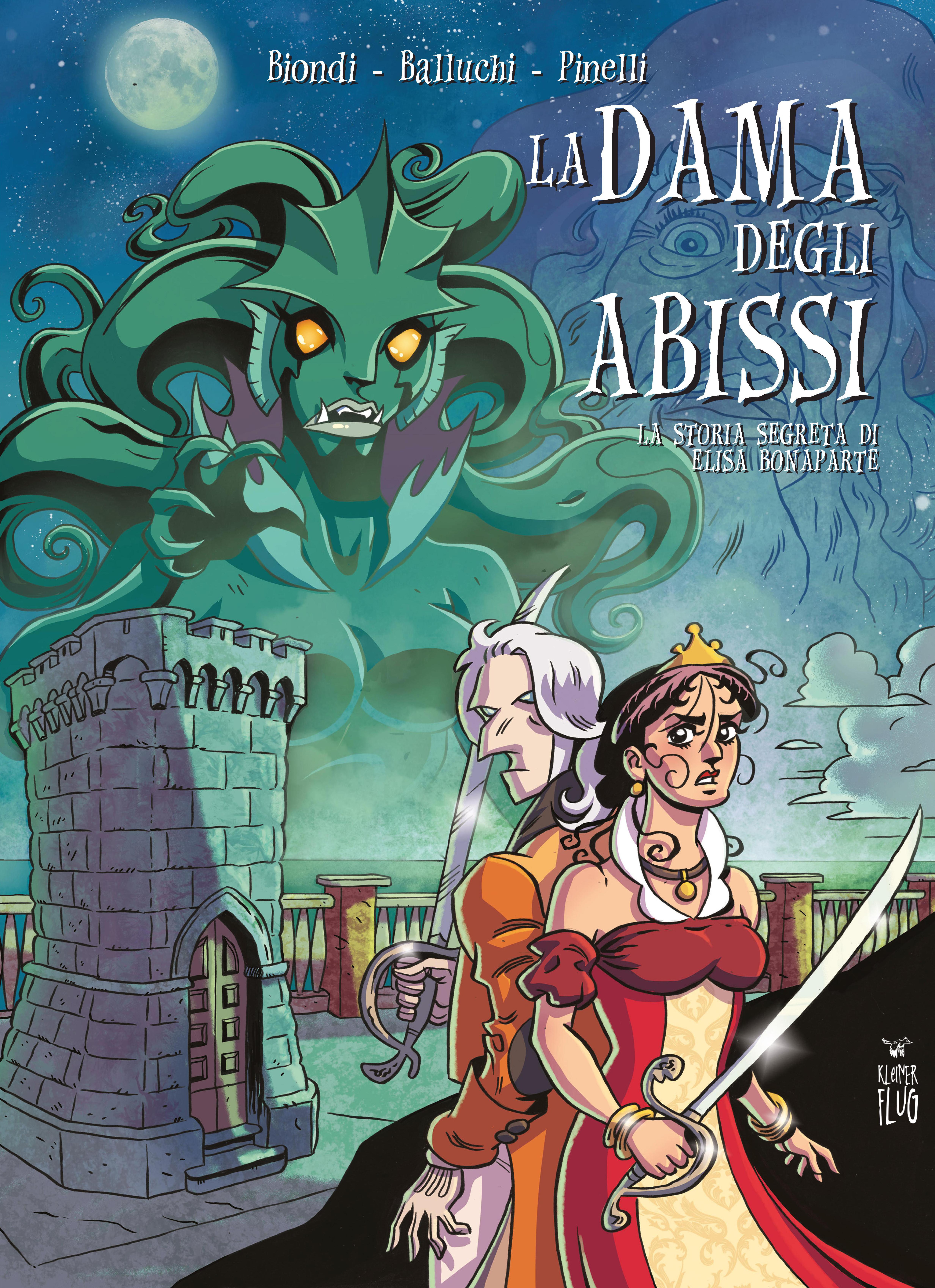 """""""La dama degli abissi"""", disponibile la graphic novel ambientata a Piombino"""