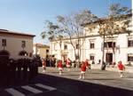 Piazza antistante Palazzo della Cultura