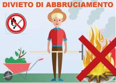 PROROGA DIVIETO ASSOLUTO ABBRUCIAMENTI RESIDUI VEGETALI FINO AL GIORNO 13/09/2020 COMPRESO
