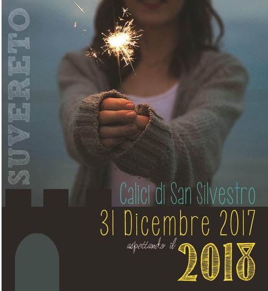 CALICI DI SAN SILVESTRO 2017. FESTA DI FINE ANNO PER LE VIE DEL BORGO TRA GASTRONOMIA, SPETTACOLO E MUSICA PER GRANDI E PICCINI.