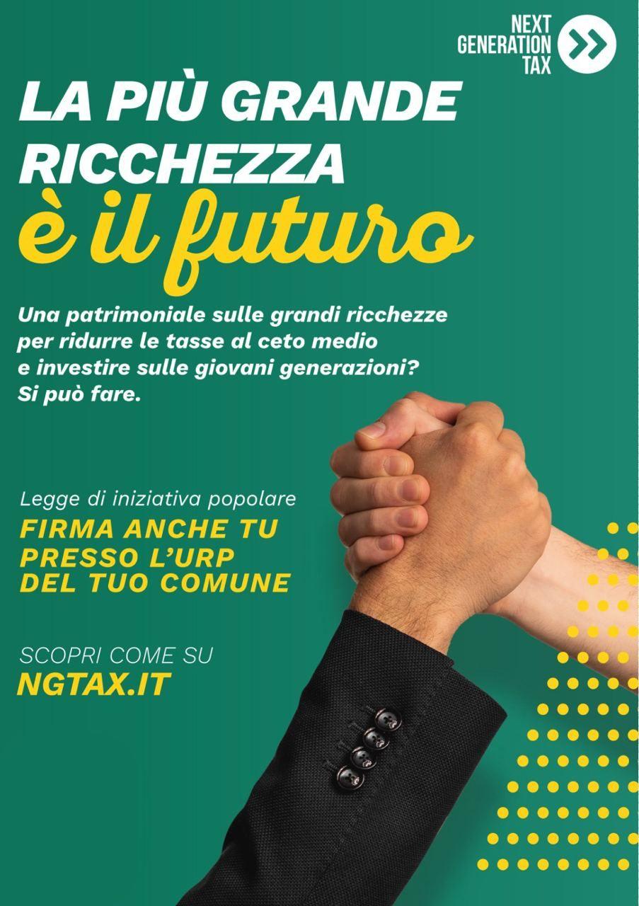 RACCOLTA FIRME PER IL PROGETTO DI LEGGE DI INIZIATIVA POPOLARE \