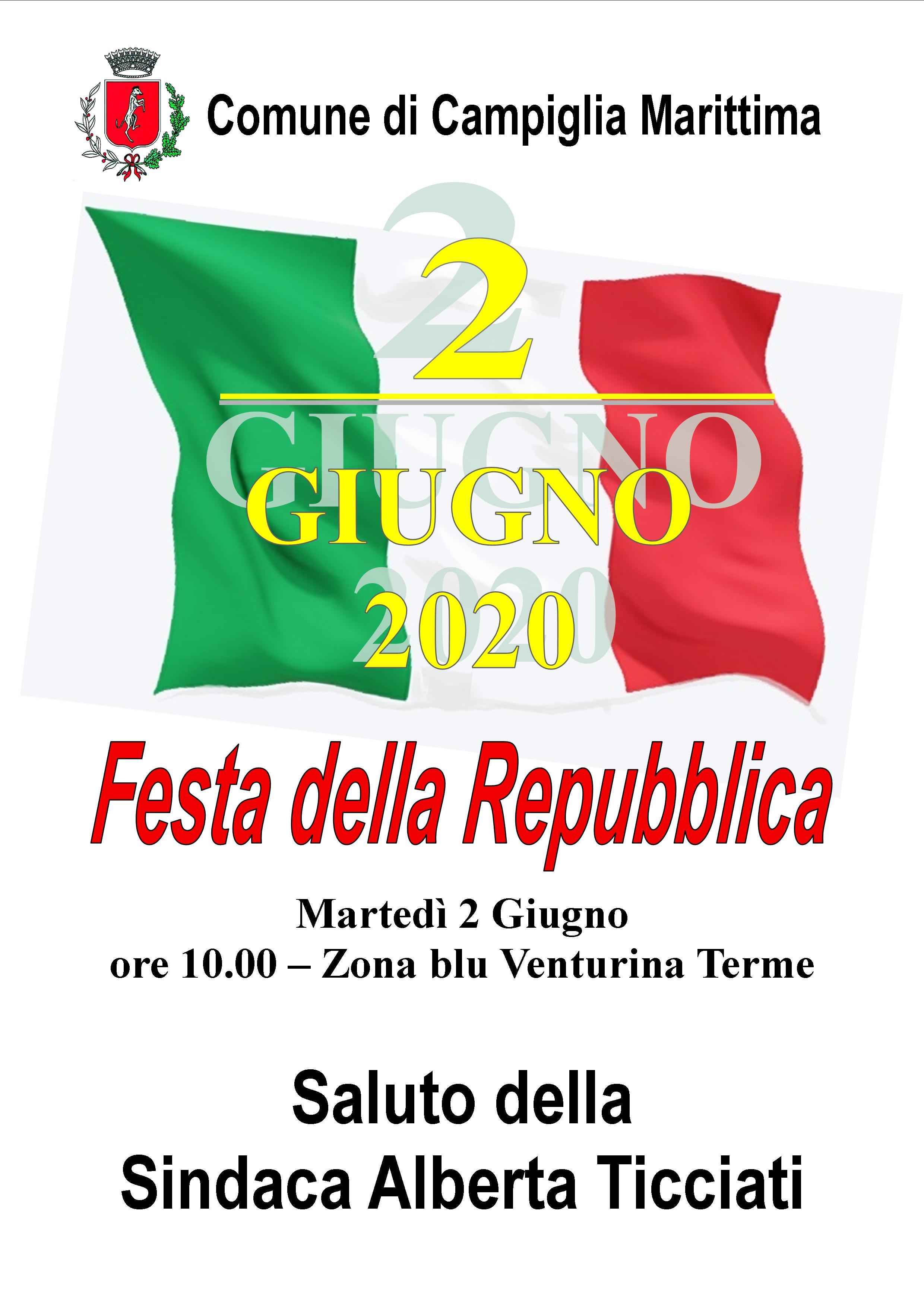 Festa della Repubblica 2020. La celebrazione del 2 giugno sarà in piazza con le distanze di sicurezza