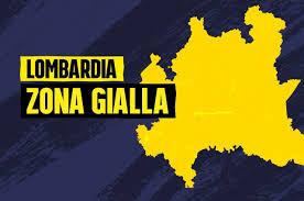 Lombardia in zona gialla dal 1° febbraio 2021