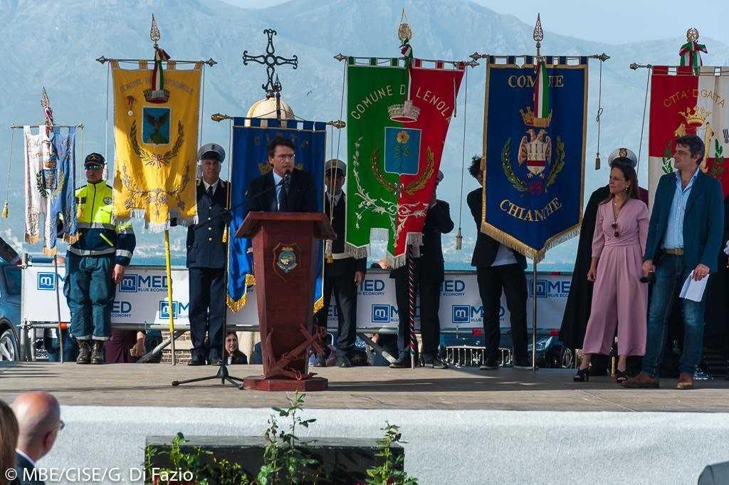 Inaugurazione Med Blue Economy.