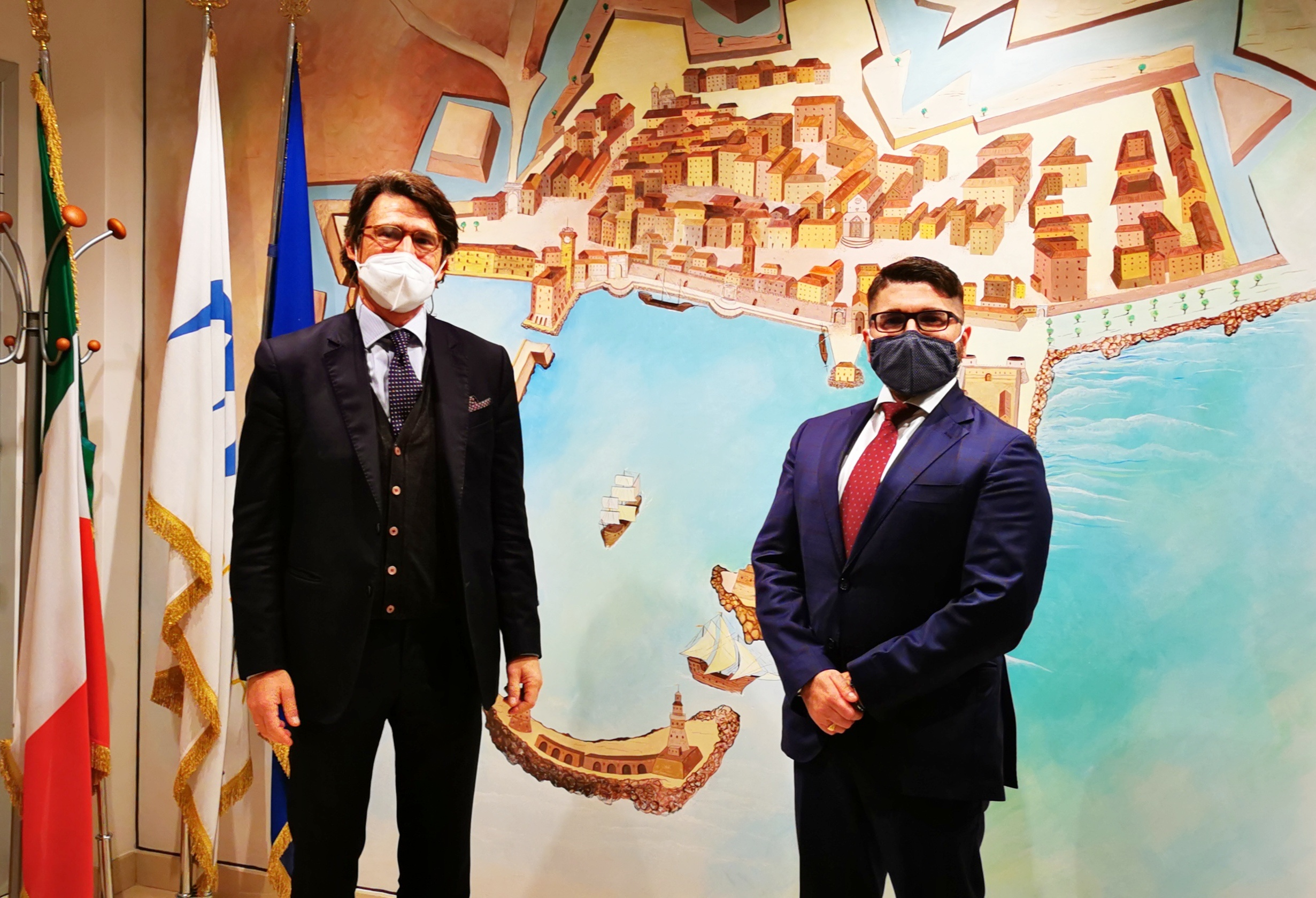 Avvicendamento a Molo Vespucci, Pino Musolino è il nuovo Presidente dell'Autorità di Sistema Portuale del Mar Tirreno Centro Settentrionale