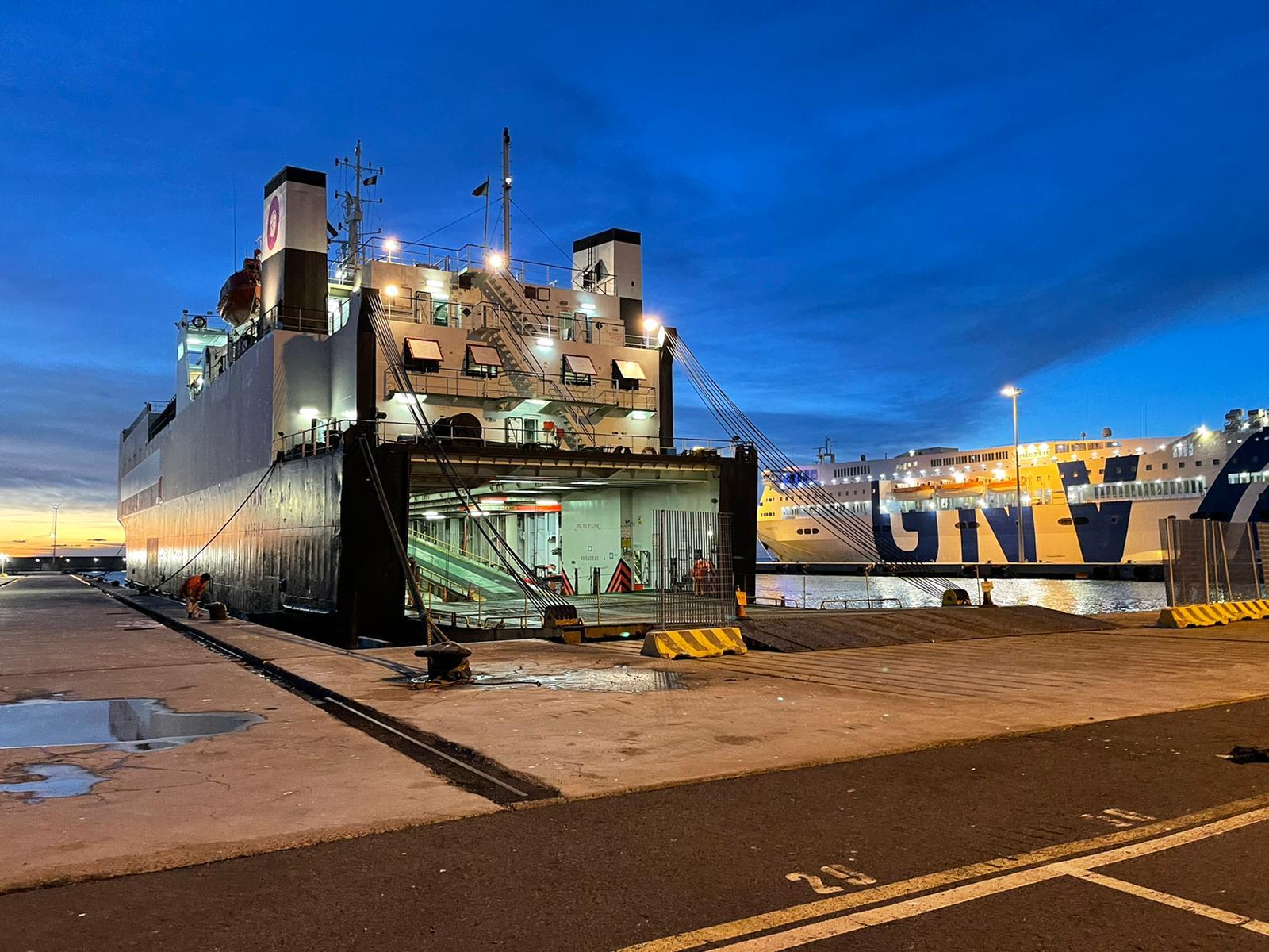 Nuova linea Ro/Ro per il porto di Civitavecchia