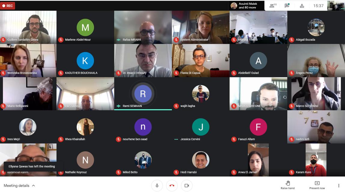 148 studenti partecipano alla prima formazione internazionale completamente digitale YEP MED a Barcellona, Tunisi, Civitavecchia e Beirut