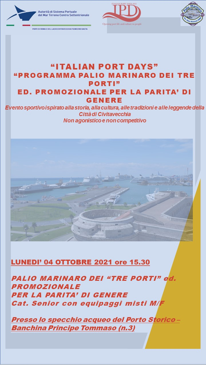 Italian Port Days - Regata per la parità di genere