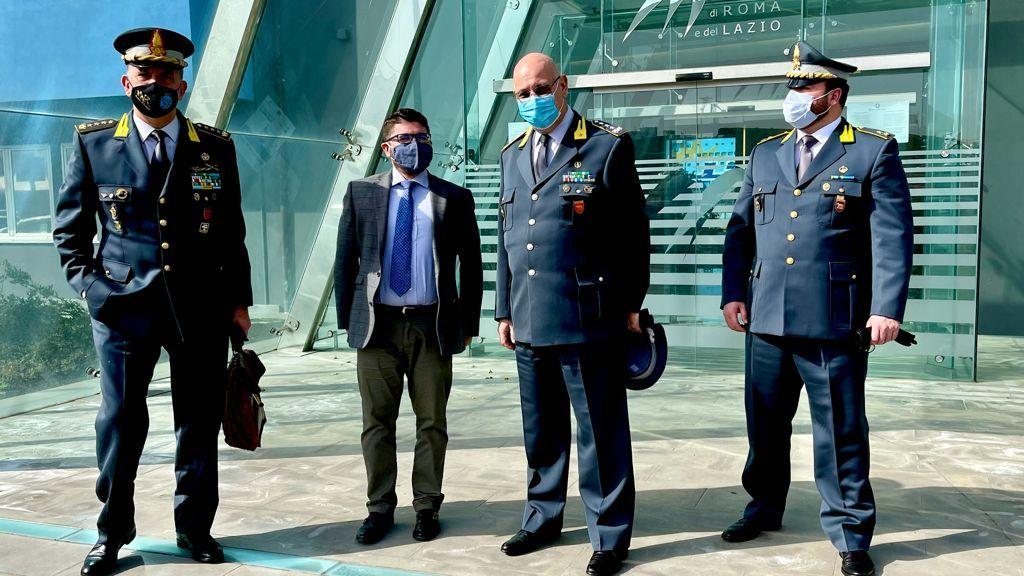 Collaborazione istituzionale tra AdSP e Guardia di Finanza: incontro tra Musolino e il Gen. Lorusso