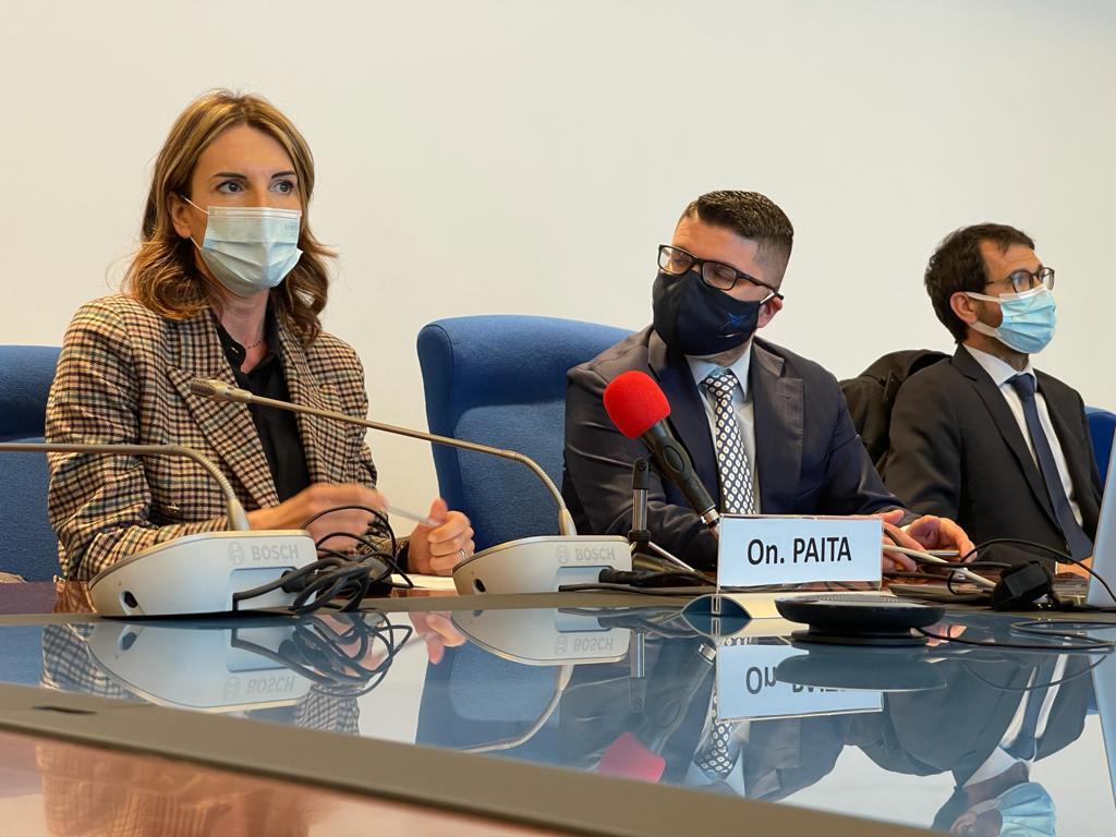 Visita della Commissione trasporti della camera dei deputati