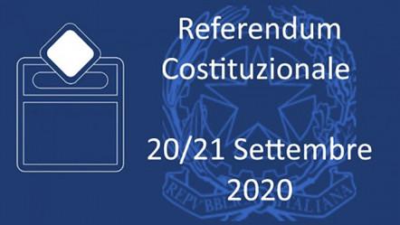Decreto di indizione del referendum per la riduzione dei parlamentari