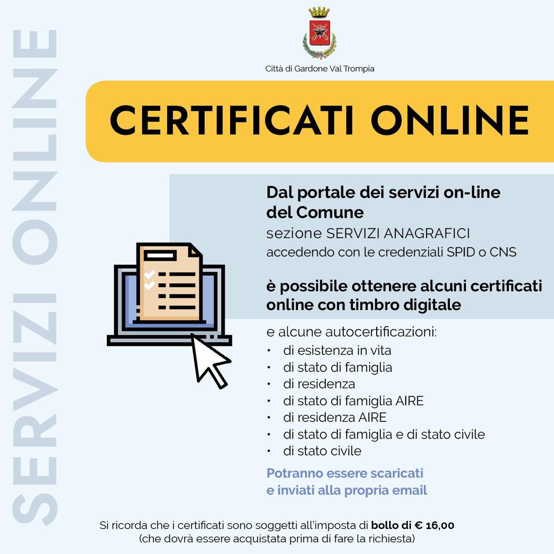 servizi anagrafici online