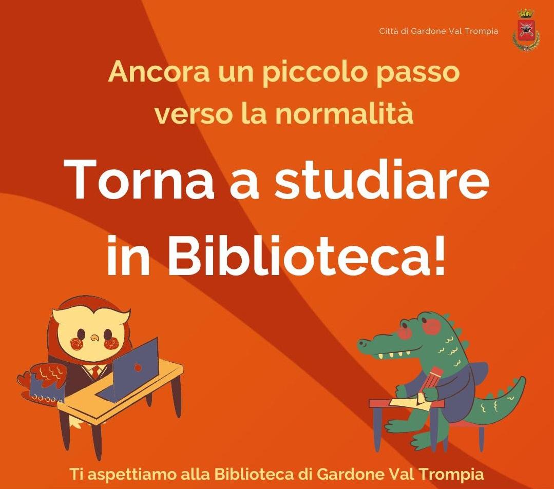 Torna a studiare in Biblioteca