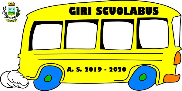 GIRI SCUOLABUS - A. S. 2019/2020 e NUOVO REGOLAMENTO