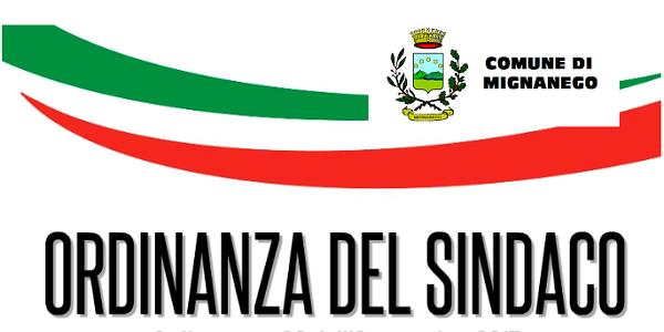 ORDINANZA SINDACALE N.5 DEL 27/08/2021 - LIMITAZIONE APPROVVIGIONAMENTO IDRICO ACQUEDOTTI LOCALITA\' VITTORIA/MONTANESI