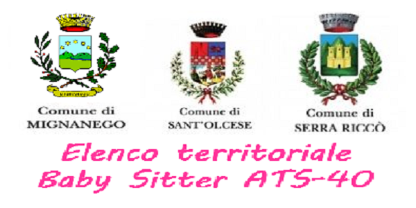 ELENCO TERRITORIALE BABY SITTER ATS-40