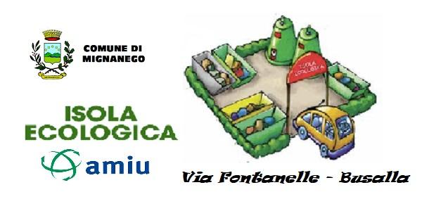 CONFERIMENTI PRESSO L\'ISOLA ECOLOGICA DI BUSALLA