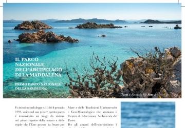 Promozione territoriale sulla rivista In viaggio in Sardegna