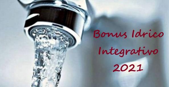 Avviso Bonus idrico integrativo anno 2021