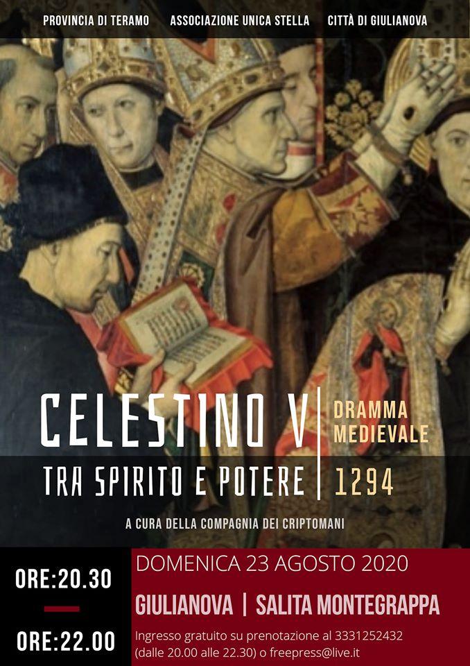 """""""Celestino V tra spirito e potere"""". Il dramma medievale sulla vita di Pietro da Morrone in scena sulla Salita Monte Grappa"""