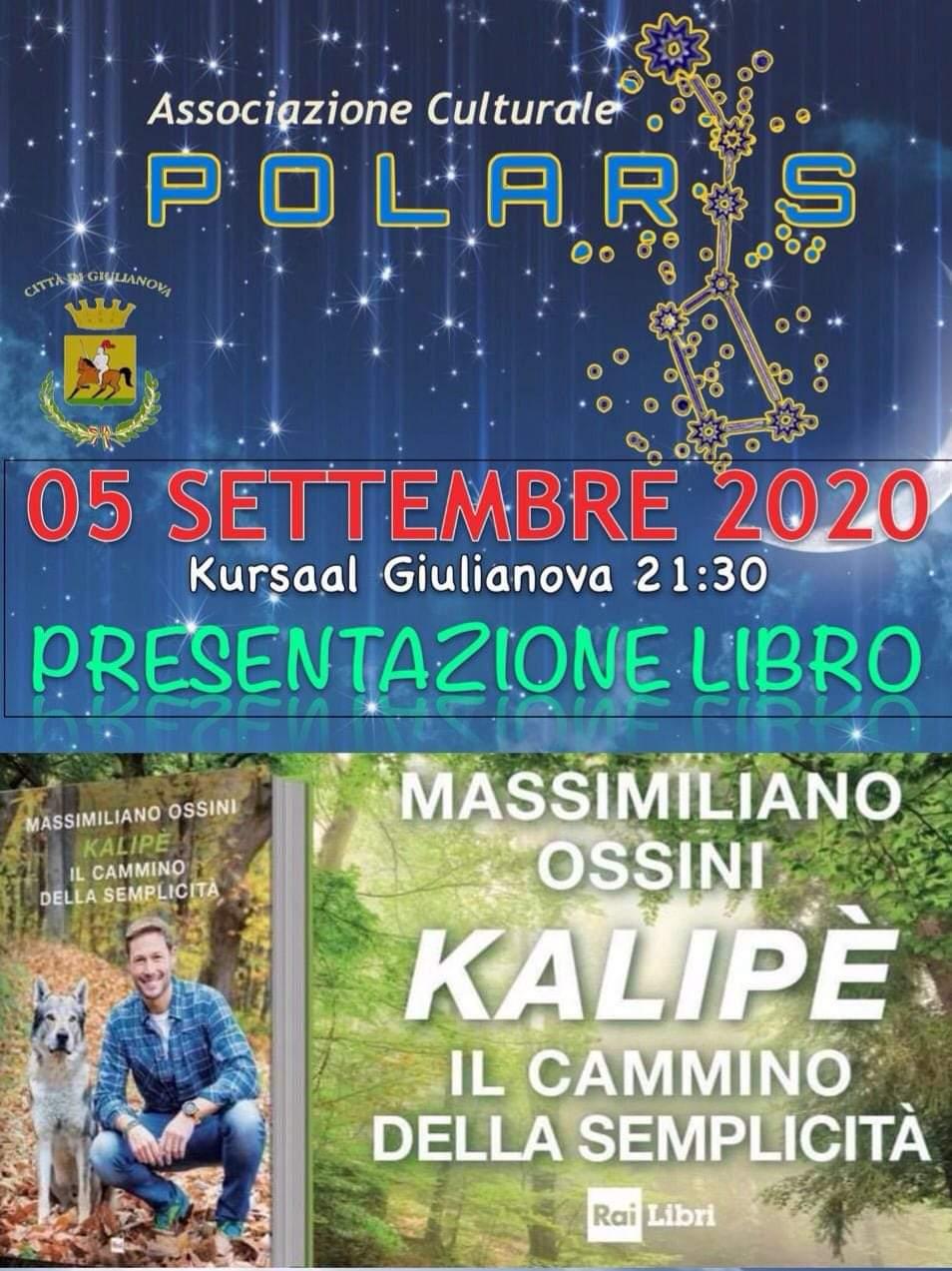 """Massimiliano Ossini presenta il suo nuovo libro """"Kalipè. Il cammino della semplicità"""""""