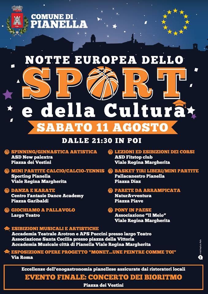notte sport e cultura