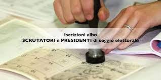 Immagine di copertina per Aggiornamento Albo Presidenti dei Seggi Elettorali e Aggiornamento Albo Scrutatori dei Seggi Elettorali